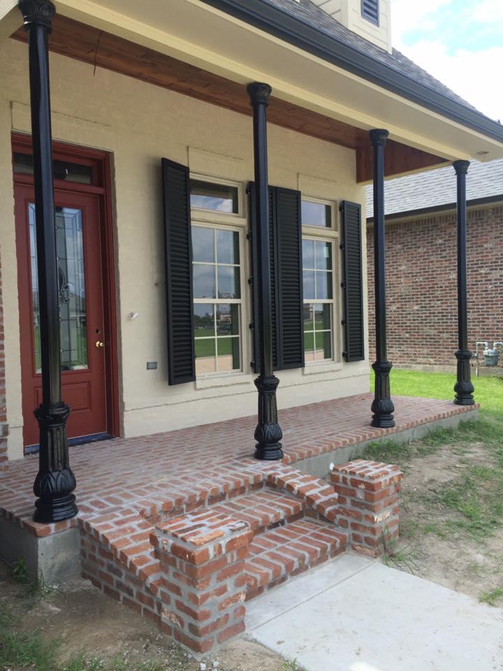 Post New Orleans Style Supreme Ornamental Iron Works Llc