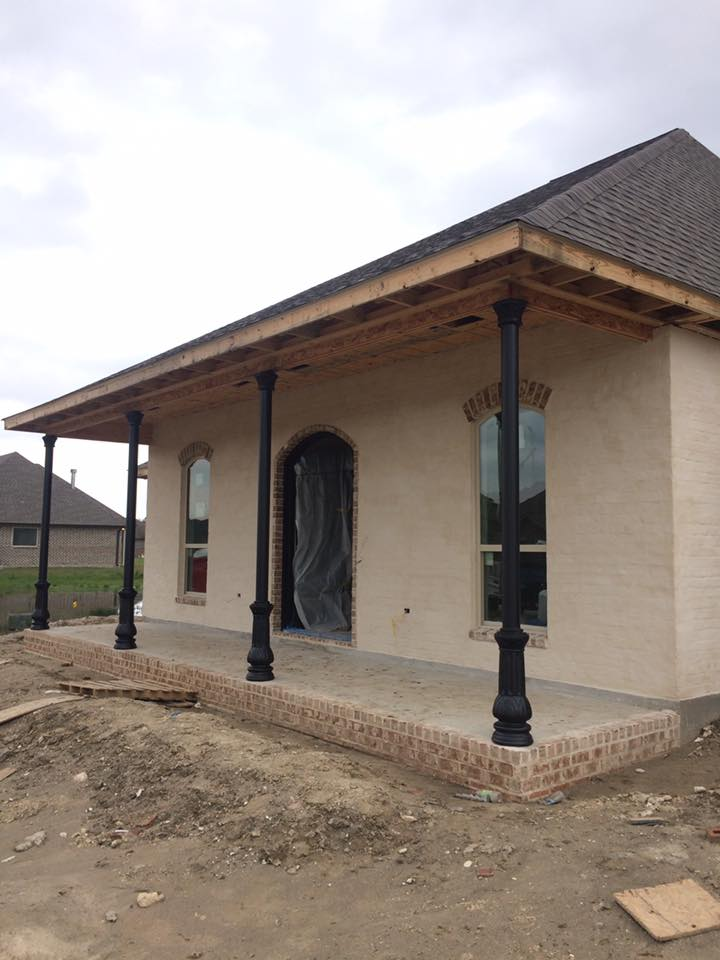 Post New Orleans Style Supreme Ornamental Iron Works Llc